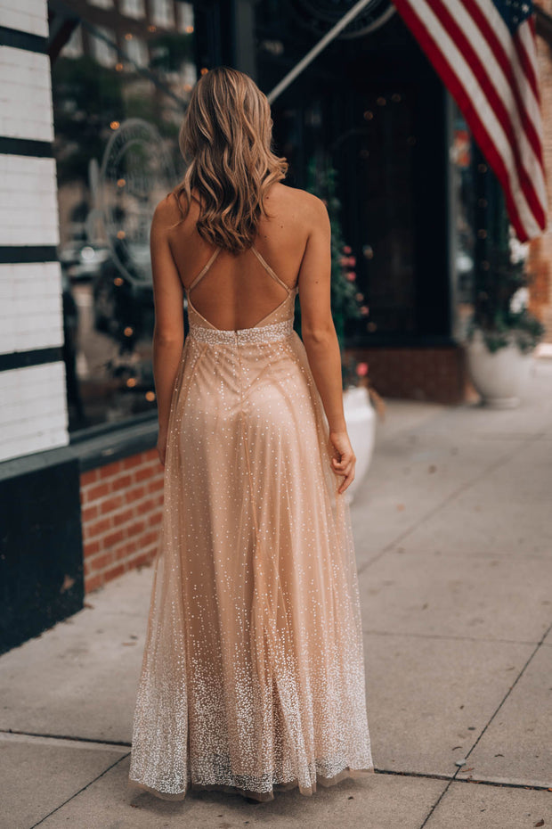 Connect The Dots Maxi Gown