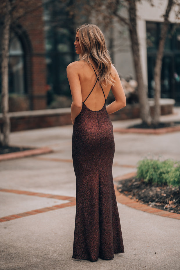 Summer Nights Lace Gown (Midnight)