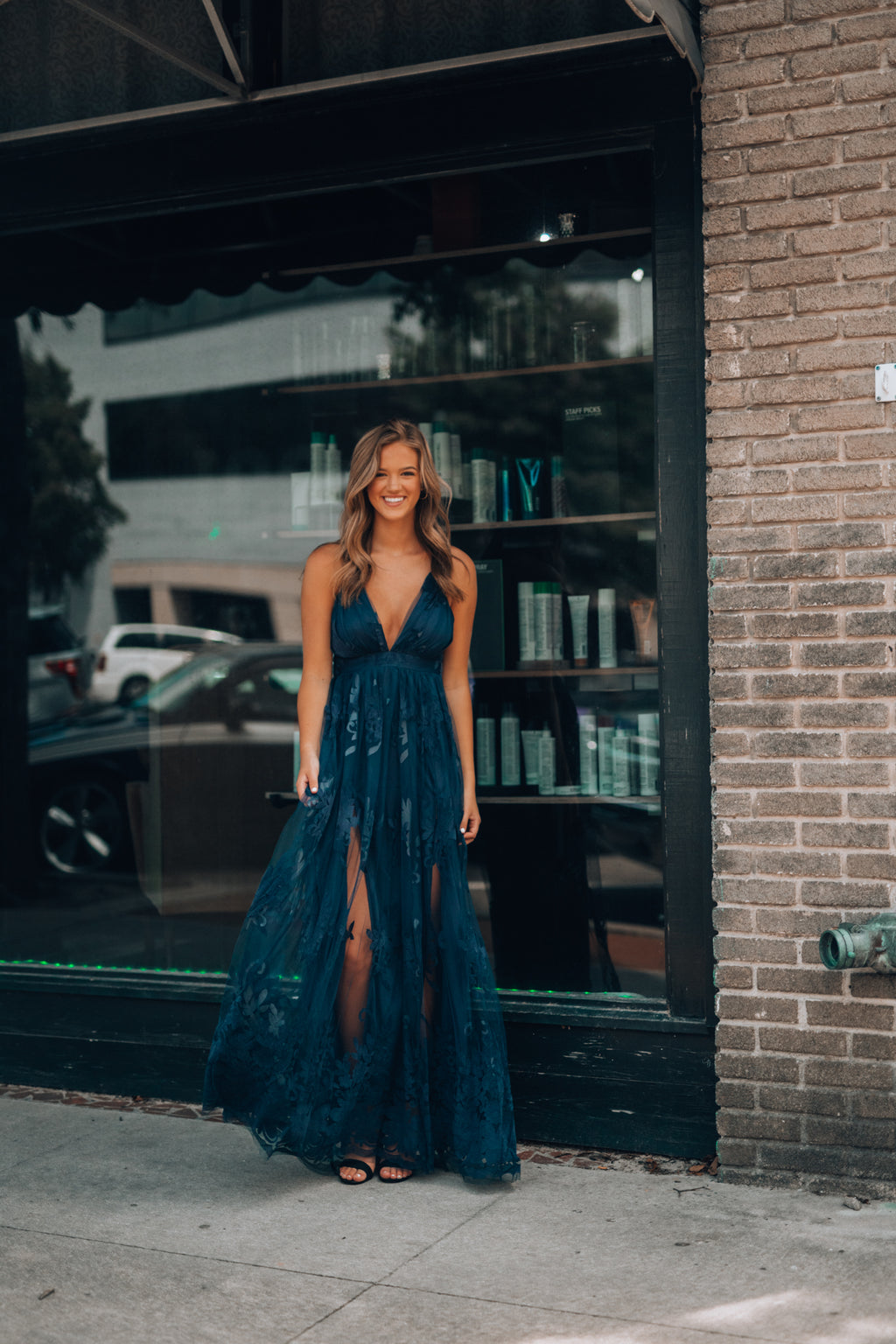All My Love Maxi Gown (Navy)