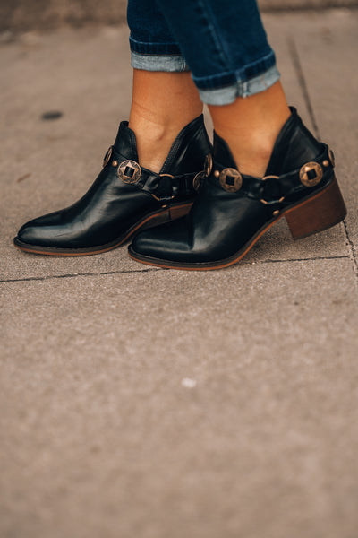 Tahoe Worn Booties (Black)