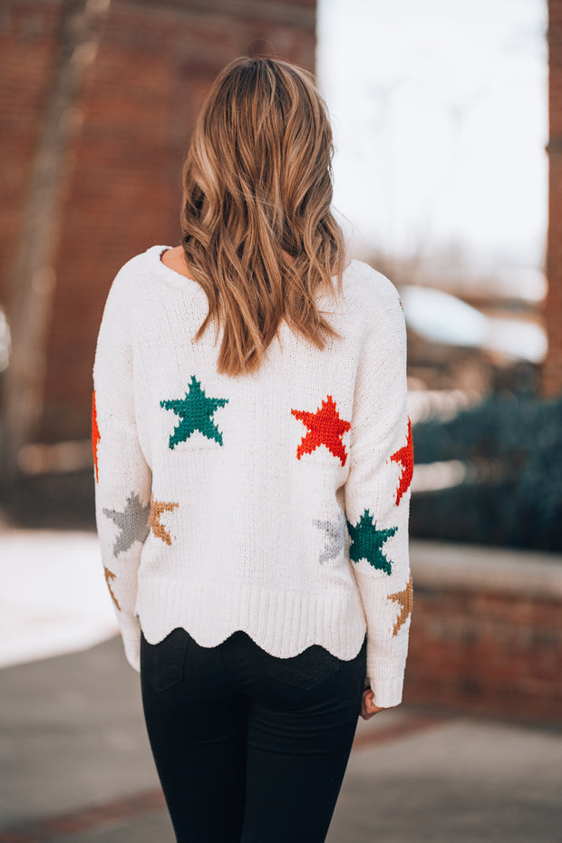Love Struck Star Sweater