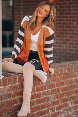 Dannie Striped Cardigan - FINAL SALE