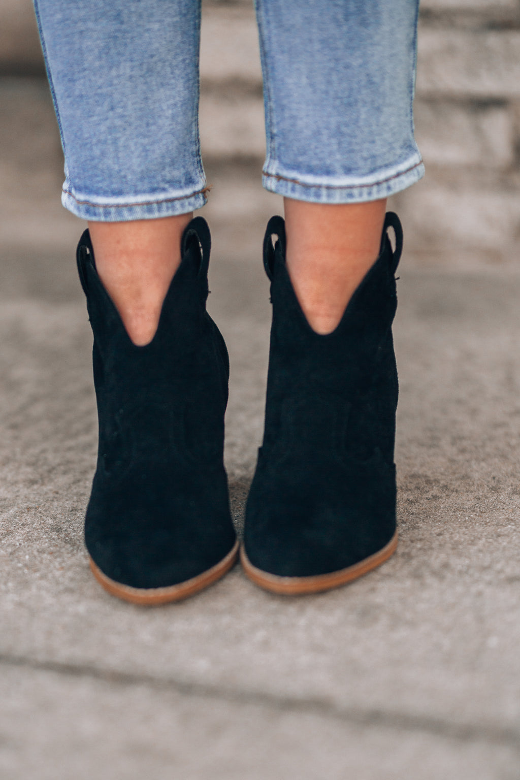 Athena Booties (Black) - FINAL SALE