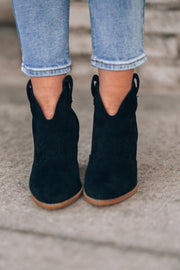 Athena Booties (Black)