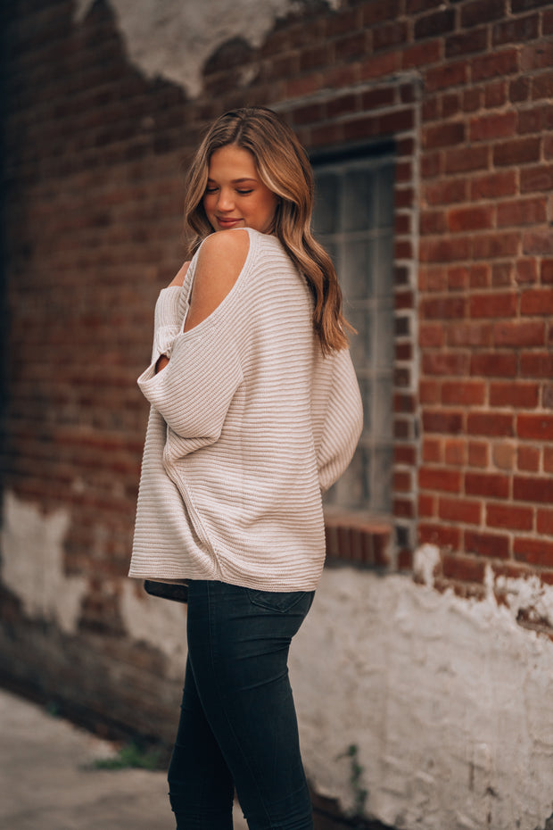 Stone Fox Knit Sweater