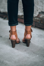 Santa Monica Booties (Taupe) - FINAL SALE