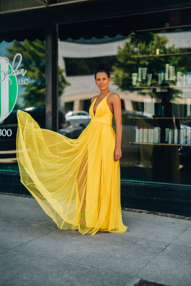 Love Spell Gown (Yellow)