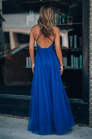Love Spell Gown (Royal Blue)