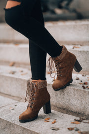 Going West Booties (Tan) PRE-ORDER Ships December 16th