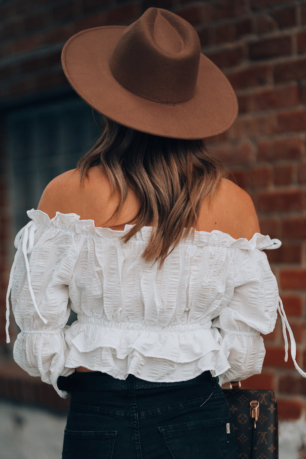 Be Mine Ruffle Blouse