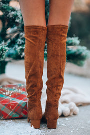 Bianca OTK Boots (Tan) PRE-ORDER Ships Mid January