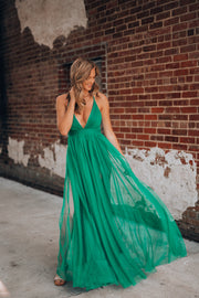 Love Spell Gown (Emerald)