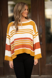 October Skies Knit Sweater