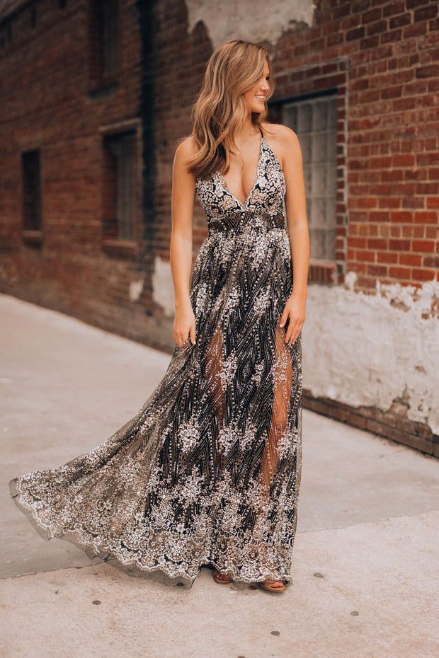 Moments Like These Gown (Black)