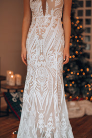 Celestial Sequin Maxi Gown
