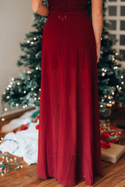 Sonoma Lace Gown (Wine)