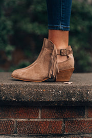 On The Fringe Booties
