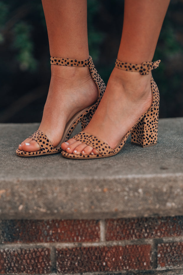 Iris Block Heel (Cheetah)