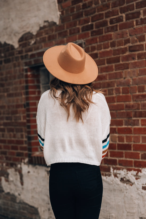 Made For You Wide Brim Hat (Pecan)