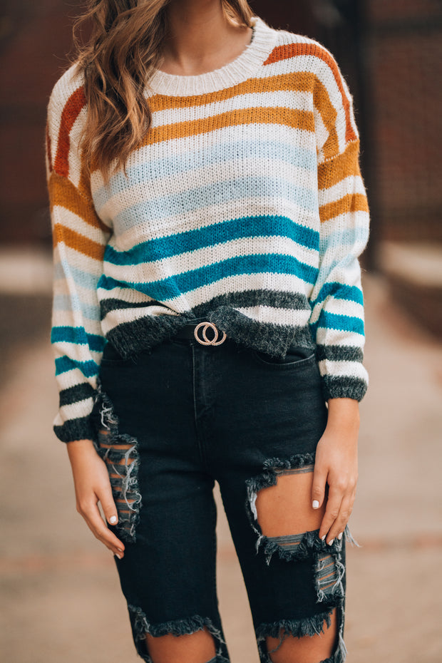 Fave Striped Sweater