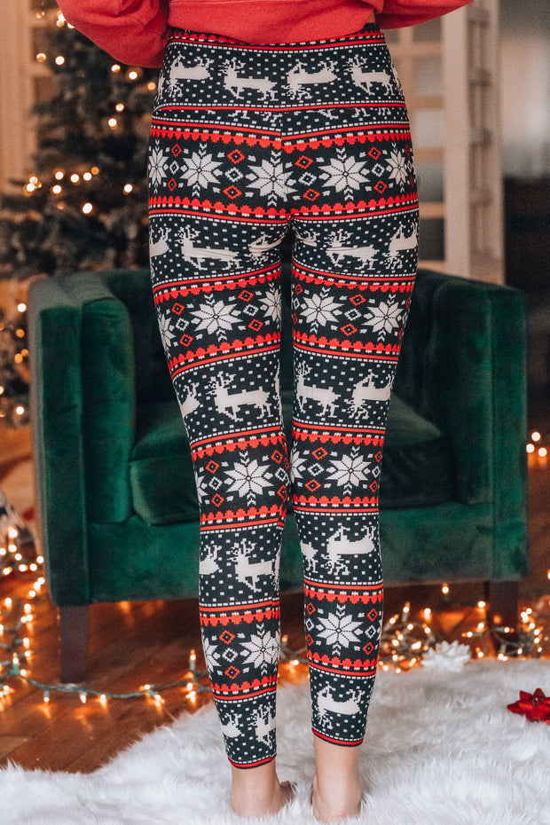 Wonderful Time Of The Year Leggings