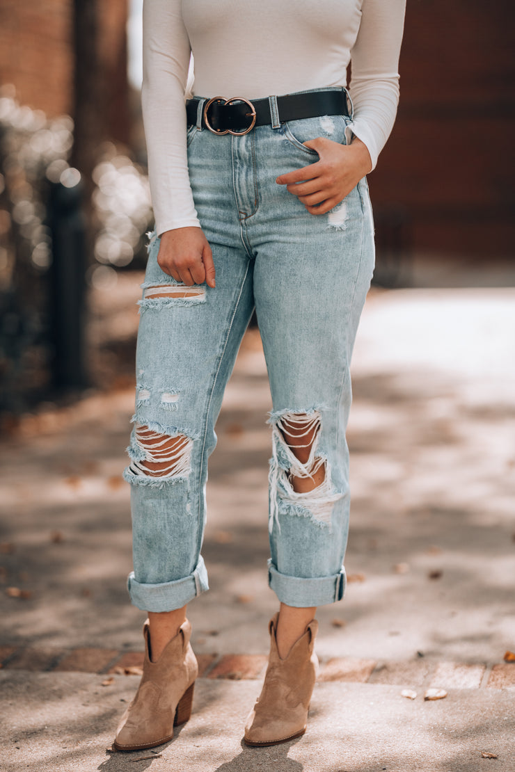 Rock Star Boyfriend Jeans