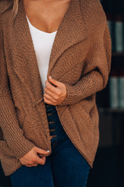 Curl Up Cocoon Cardigan