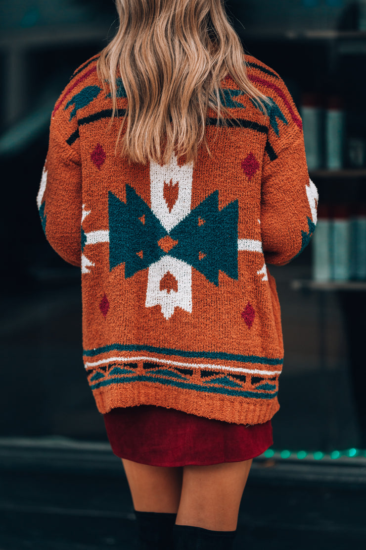 Autumn Spice Cardigan - FINAL SALE