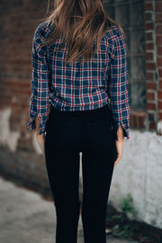 Plaid To The Bone Button Up