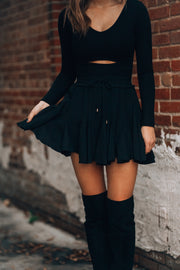 Before You Go Skirt (Black)