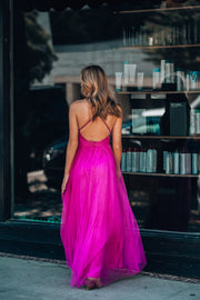 Love Spell Gown (Magenta)