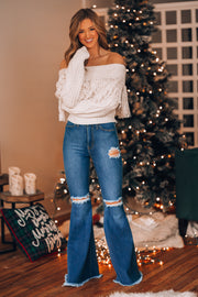 Fringe Benefits Knit Sweater PRE-ORDER Ships Late November