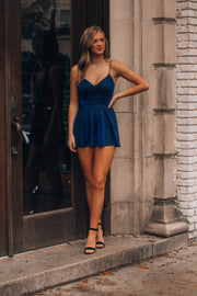 Starry Night Glitter Romper (Blue)