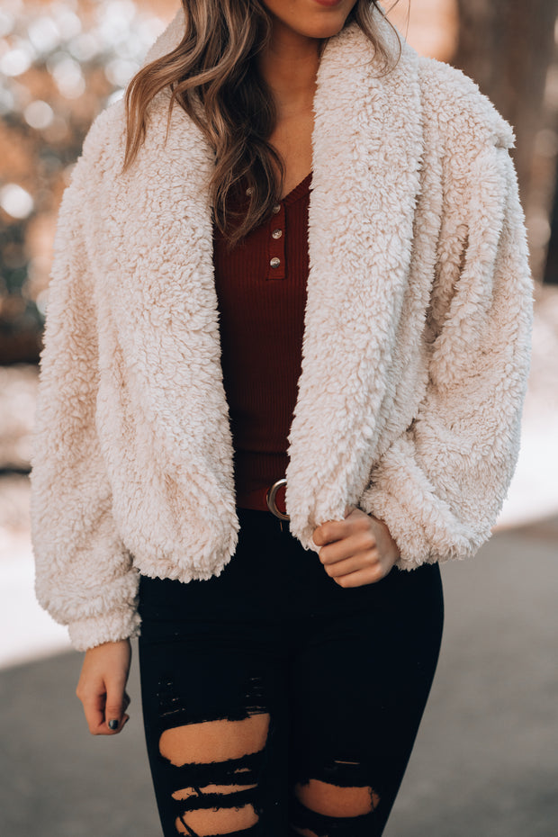 Soft To Touch Sherpa Jacket