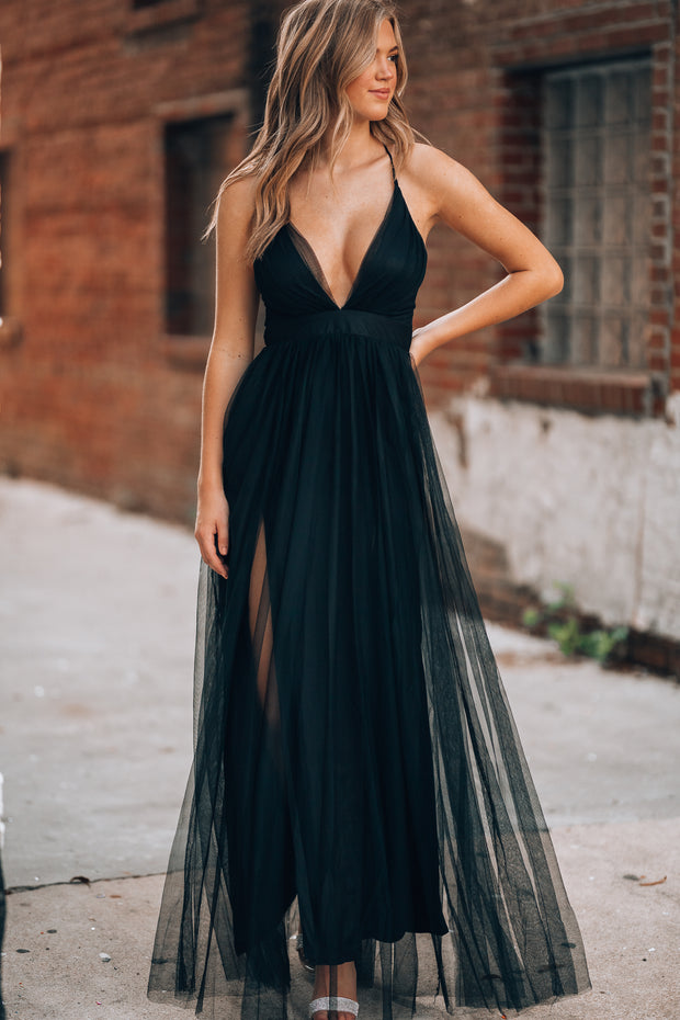 Love Spell Gown (Black