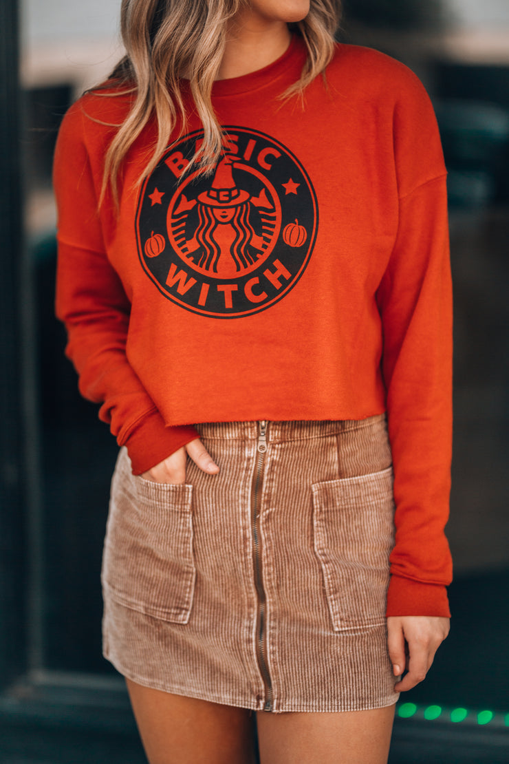 Basic Witch Crop Sweater