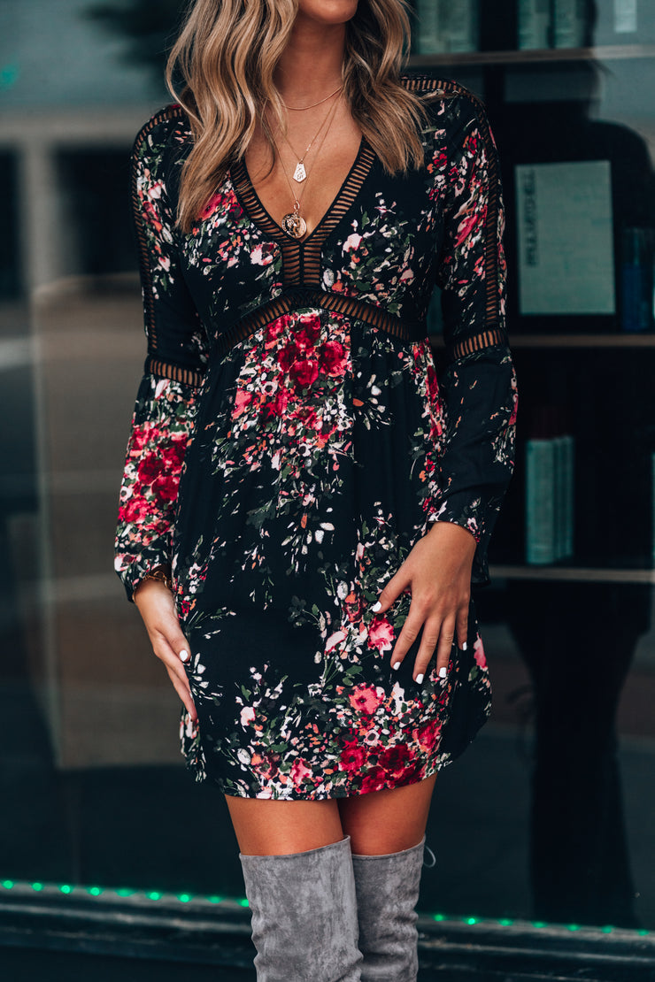 Lara Floral Mini Dress - FINAL SALE