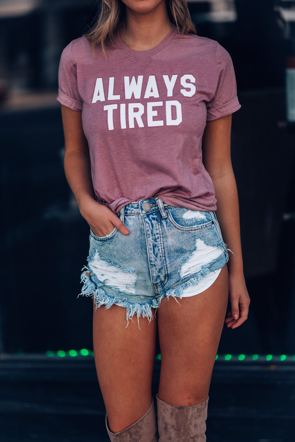 Always Tired Tee