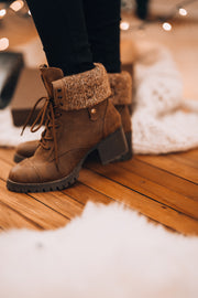 Adventurer Knit Boots (Tan)