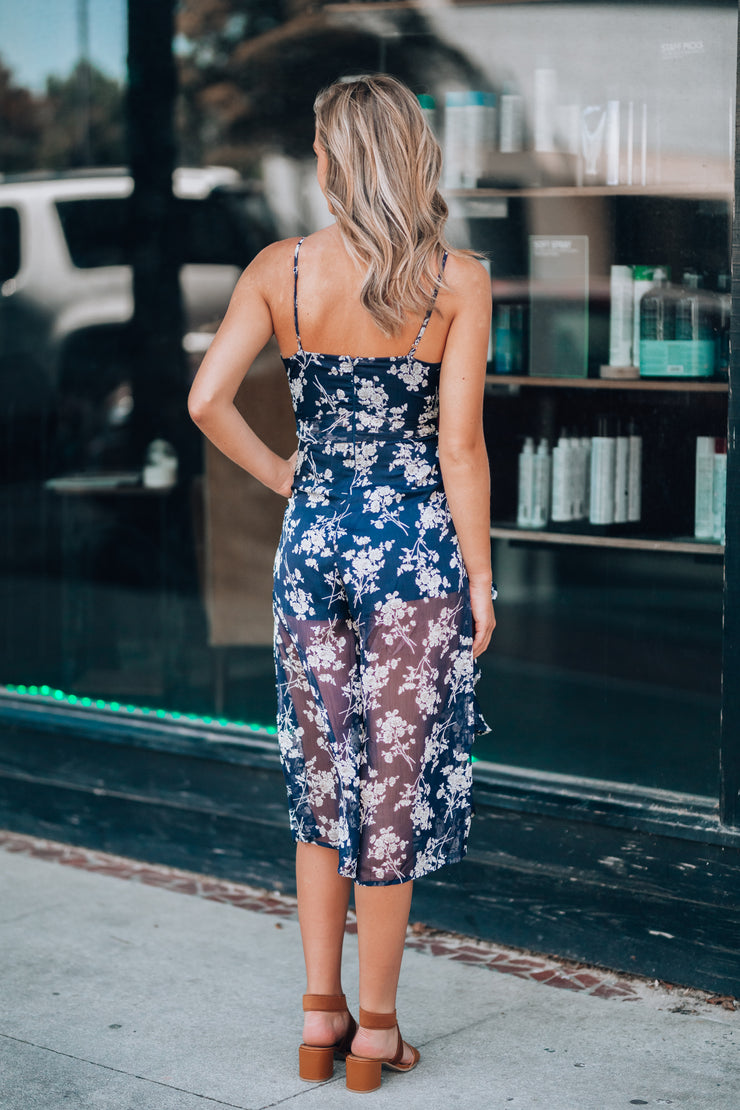 Swing Of Things Floral Jumpsuit - FINAL SALE