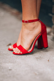 Classic Heels (Red) - FINAL SALE