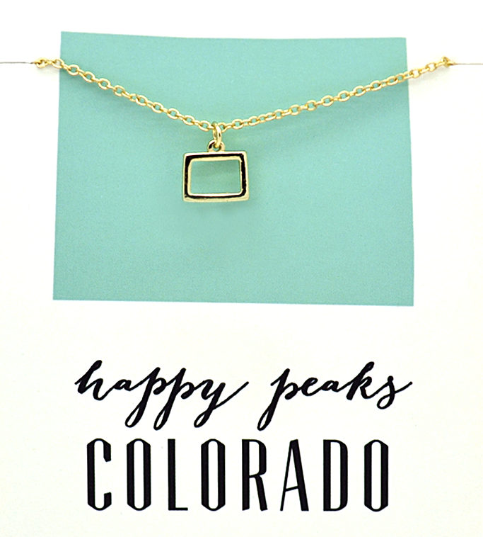 State Love Necklace COLORADO