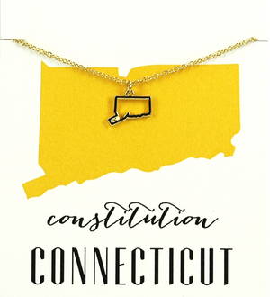 State Love Necklace CONNECTICUT