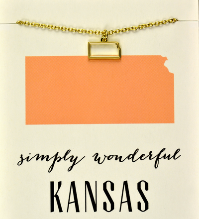 State Love Necklace KANSAS