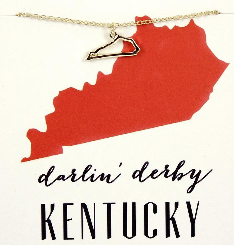 State Love Necklace KENTUCKY