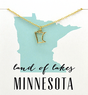 State Love Necklace MINNESOTA