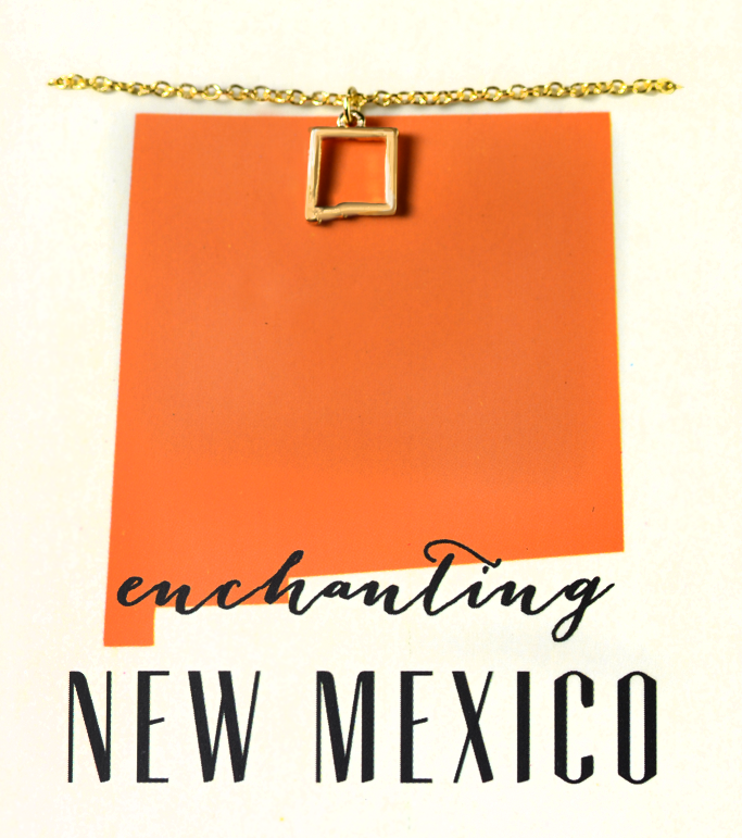 State Love Necklace NEW MEXICO