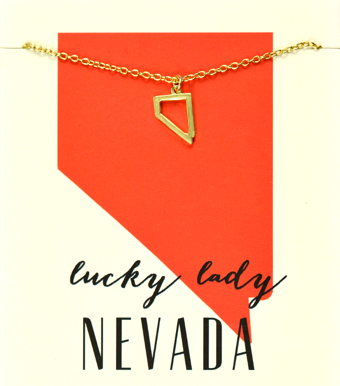 State Love Necklace NEVADA