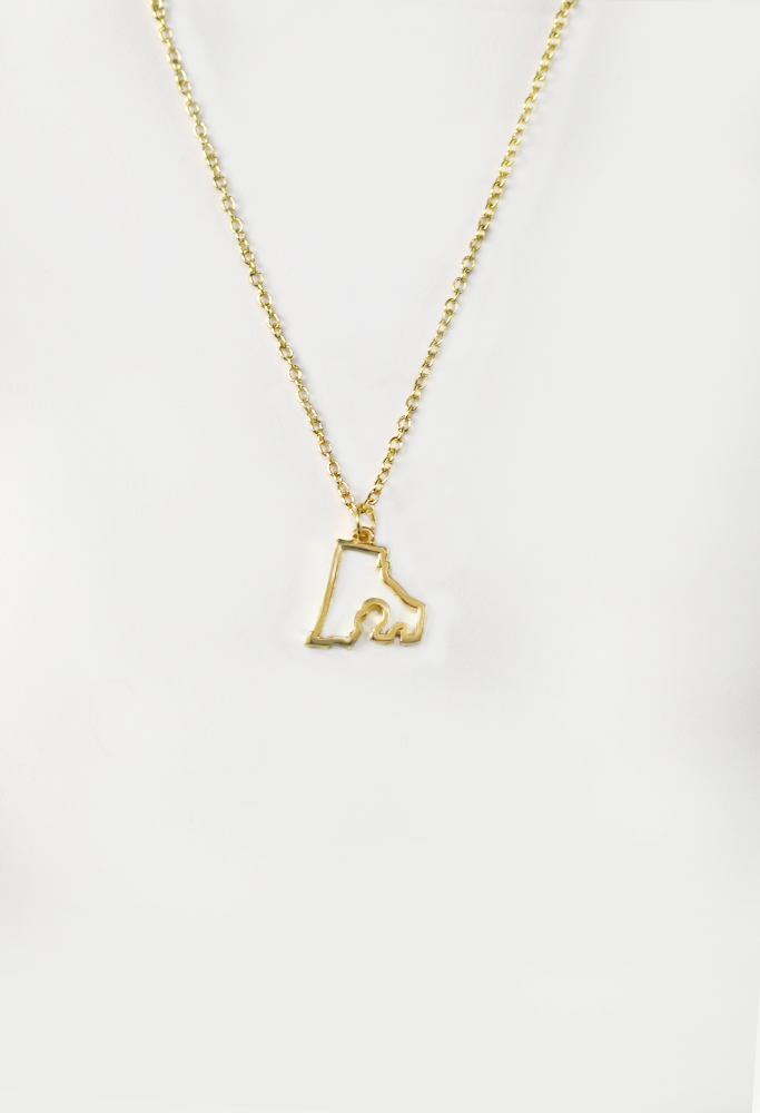 State Love Necklace RHODE ISLAND
