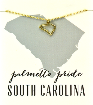 State Love Necklace SOUTH CAROLINA